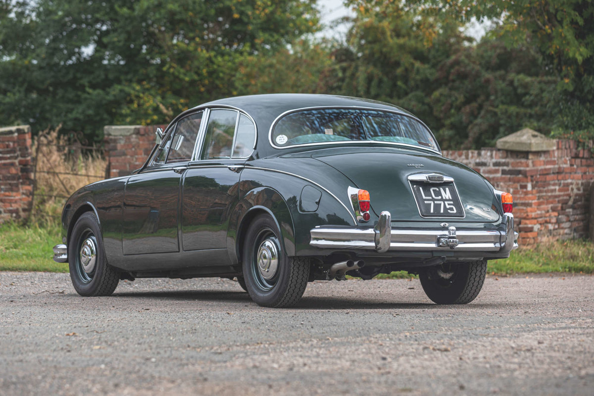 Classic Jaguar Saloon photo